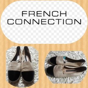 French Connection Round Toe on Espadrille Loafers